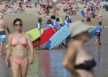 El surf quiere más playa