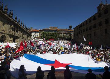El nacionalismo gallego celebra su gran fiesta más dividido que nunca