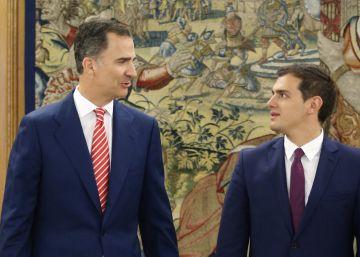 Rivera se reafirma en su oposición a votar a favor de Rajoy