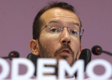 """Iglesias cree que la actuación de Echenique ha sido """"un ejemplo moral"""""""