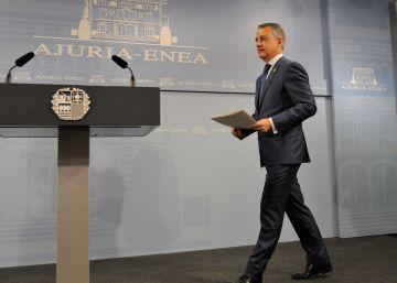 Urkullu convoca las elecciones vascas el 25 de septiembre