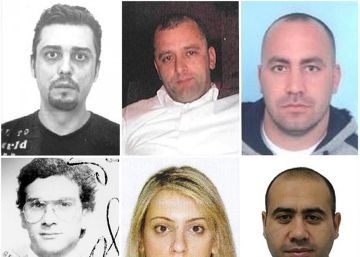Dos de los fugitivos más buscados de la Unión Europea tienen vínculos con España