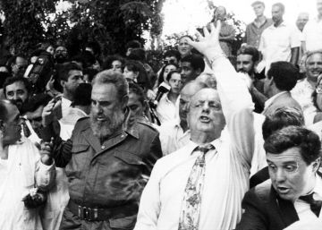 Galicia reedita la amistad de Fraga con Fidel Castro