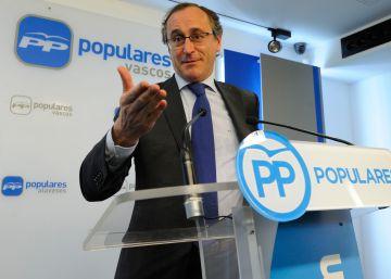 Alonso será el candidato del PP a lehendakari