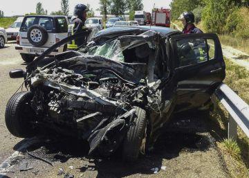 Julio acaba con el peor dato del último lustro en accidentes de tráfico