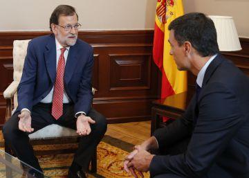 Los tres últimos encuentros entre Rajoy y Sánchez