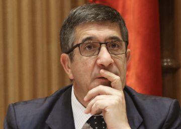 "Patxi López acusa a Rajoy de intentar ""chantajear"" al PSOE"