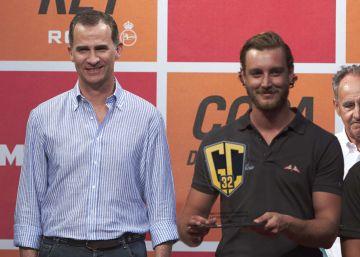 Felipe VI preside la entrega de trofeos de la Copa del Rey de Vela
