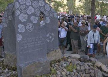 Biescas recuerda a las 87 víctimas por la riada del Camping 'Las Nieves'