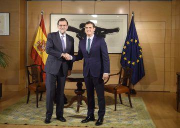La reunión entre Rajoy y Rivera será el miércoles en el Congreso