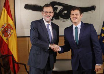 La fecha de la investidura marca la nueva cita entre el PP y Ciudadanos