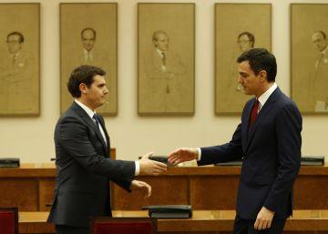 Rivera invita a Sánchez a impulsar juntos reformas en la oposición