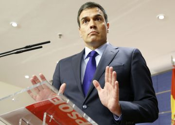 Sánchez ignora la llamada de Rivera a colaborar tras una investidura de Rajoy