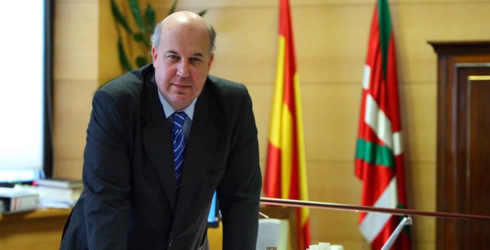 Juan Calparsoro, fiscal superior del País Vasco.