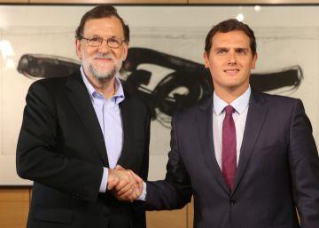 Rajoy y Rivera se reúnen sin un orden claro