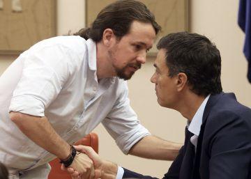 Sánchez niega el acuerdo con Podemos que sugiere Iglesias