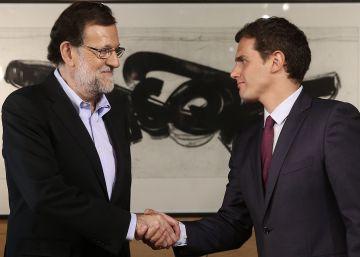 Rajoy acepta las siete exigencias de Rivera