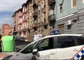 Fallece una niña de un año al caer desde un tercer piso en Barakaldo