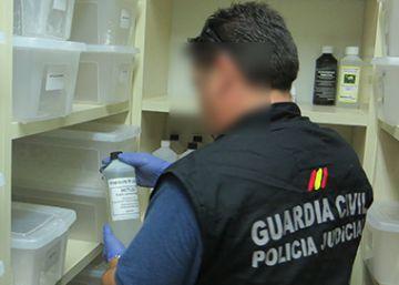 Desmantelado en Bizkaia un centro de envío de drogas por correo a Europa y EE UU