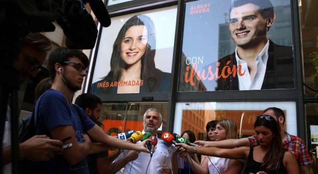 El portavoz parlamentario de Ciudadanos en Cataluña.