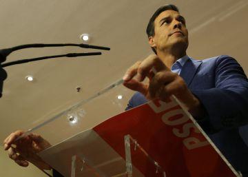 Sánchez reivindica la ausencia de imputados en las listas del PSOE