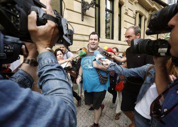 EH Bildu inicia la pelea legal para mantener la candidatura de Otegi