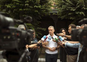 "Urkullu dice que el debate de Otegi es del pasado , ""Euskadi mira al futuro"""