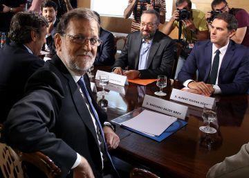 Los pactos de Rivera con Rajoy y con Sánchez: similares, aunque con diferencias