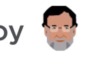 Twitter activa un 'emoji' de Rajoy en el hashtag #InvestiduraRajoy