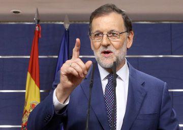 Rajoy expondrá su pacto con Rivera y ligará la recuperación a la investidura