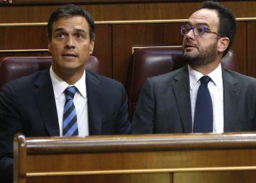 """El PSOE ratifica su no tras el discurso de """"un burócrata"""""""
