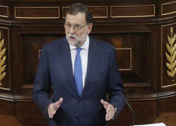El discurso de Rajoy en el debate de investidura, en 10 frases