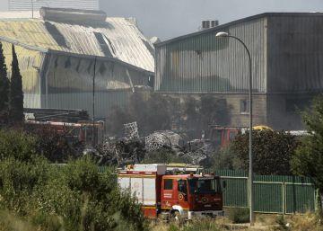 La planta de Chiloeches intentó recuperar el permiso dos meses antes del incendio
