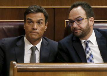 """Sánchez ratifica su 'no' a Rajoy: """"No podemos secundar su chantaje"""""""