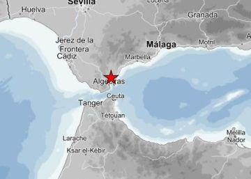 Un temblor de magnitud 3,5 sacude durante unos segundos el Campo de Gibraltar