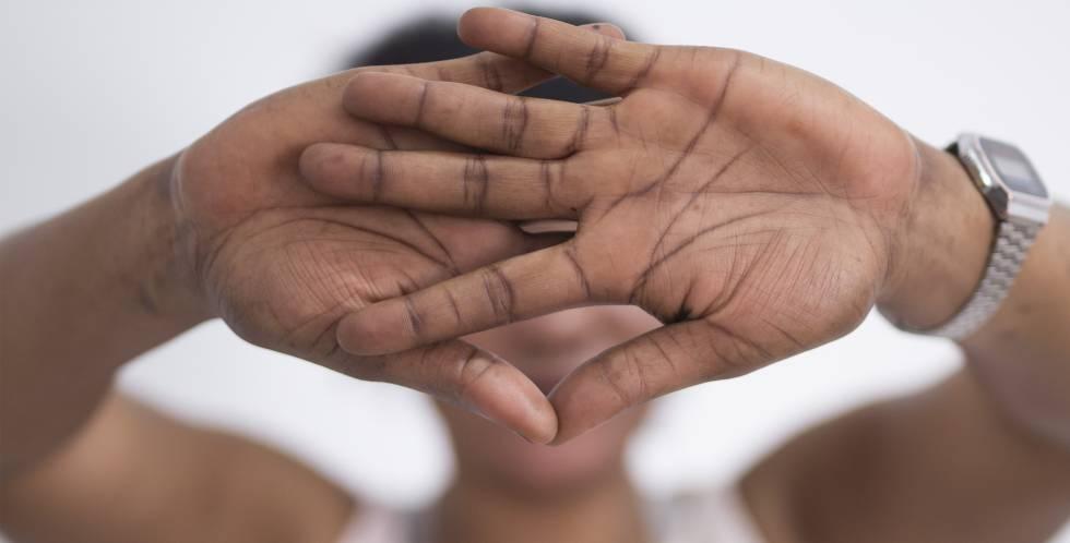 La nigeriana Beauty, víctima de una red de tráfico de personas.