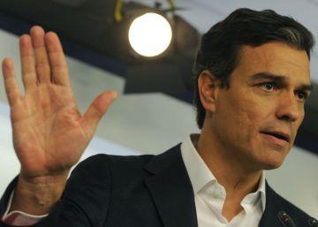Sánchez ratifica su 'no' a Rajoy en una charla de 10 minutos