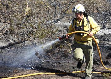 Un incendio forestal obliga a desalojar a 600 personas en Menorca