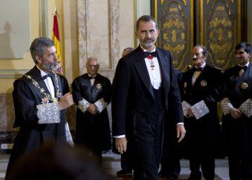 """Lesmes defiende la """"rabiosa independencia"""" de los jueces contra la corrupción"""