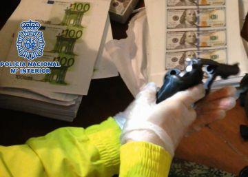Siete detenidos en Colombia al caer una red de falsificación de moneda