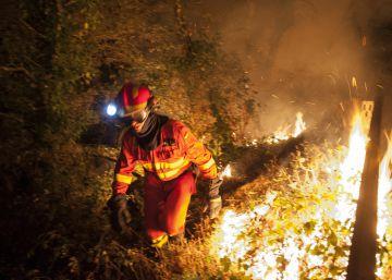 El fuego arrasa en dos días cerca de 6.000 hectáreas en Ourense