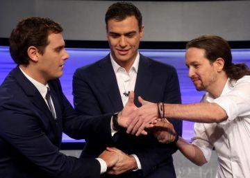 PSOE, Podemos y Ciudadanos coinciden en un 76% de las votaciones