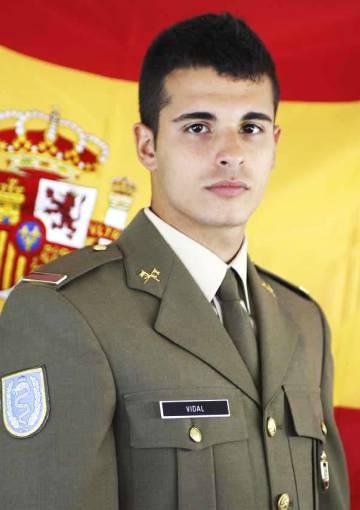 Aarón Vidal López, de 25 años