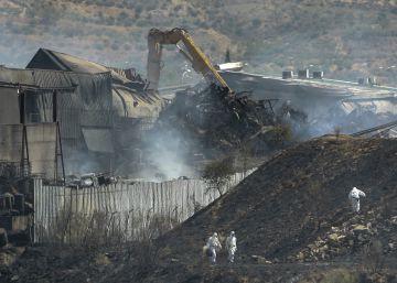 El incendio en la planta ilegal de Chiloeches causó un vertido al río Henares