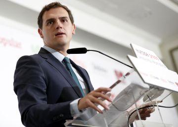 Rivera exige la dimisión de Barberá para apoyar otra investidura de Rajoy
