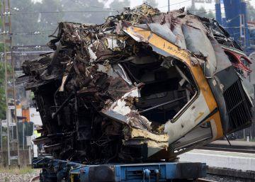 El exceso de velocidad fue la causa del descarrilamiento del tren Vigo-Oporto