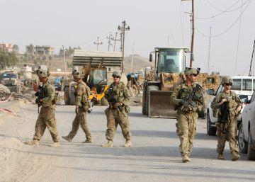 Militares españoles preparan al Ejército iraquí para la batalla de Mosul