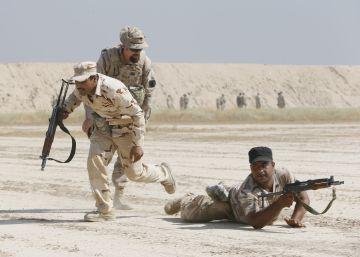 Militares españoles forman a las reclutas iraquíes para luchar contra el ISIS