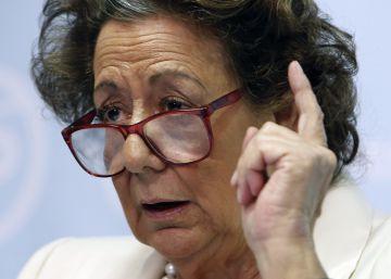 Rita Barberá se da de baja en el PP pero se aferra al escaño en el Senado