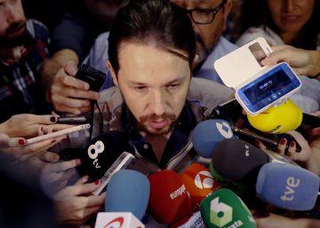 Iglesias asegura que es el único que quiere que Sánchez sea presidente